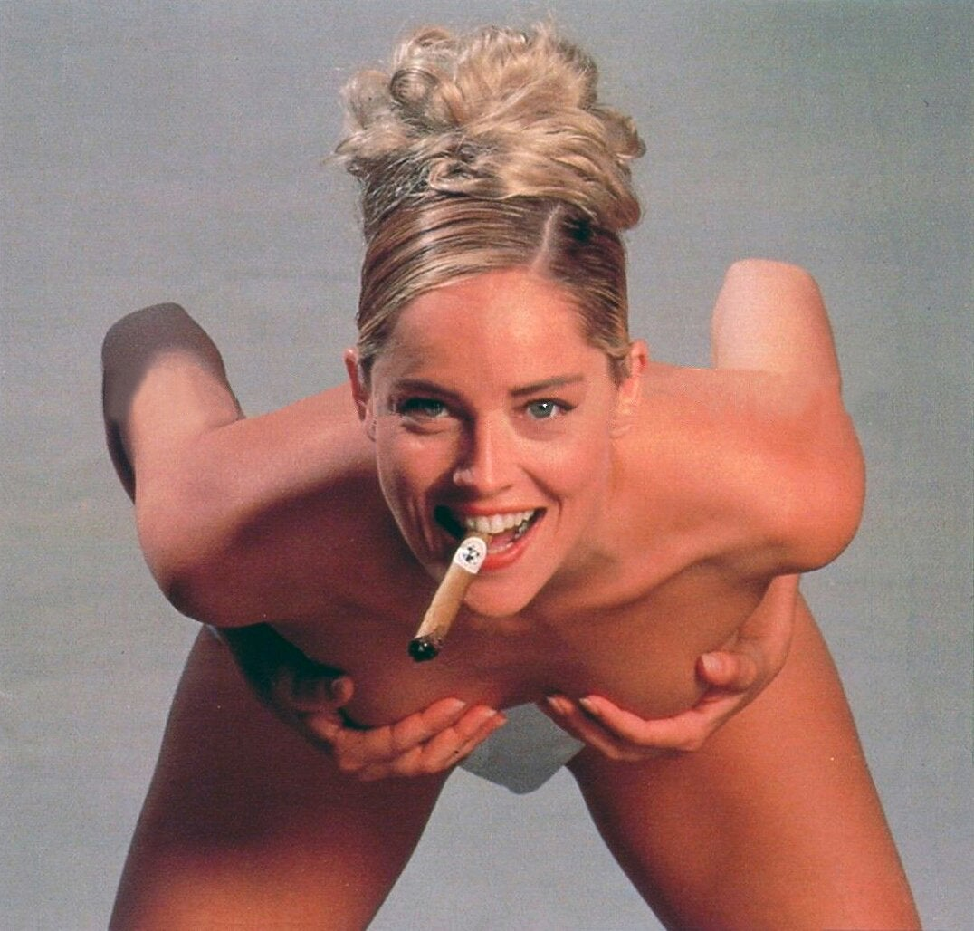 A Smokin Hot Sharon Stone NSFW