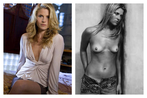 Ali Larter Topless Photoshoot NSFW