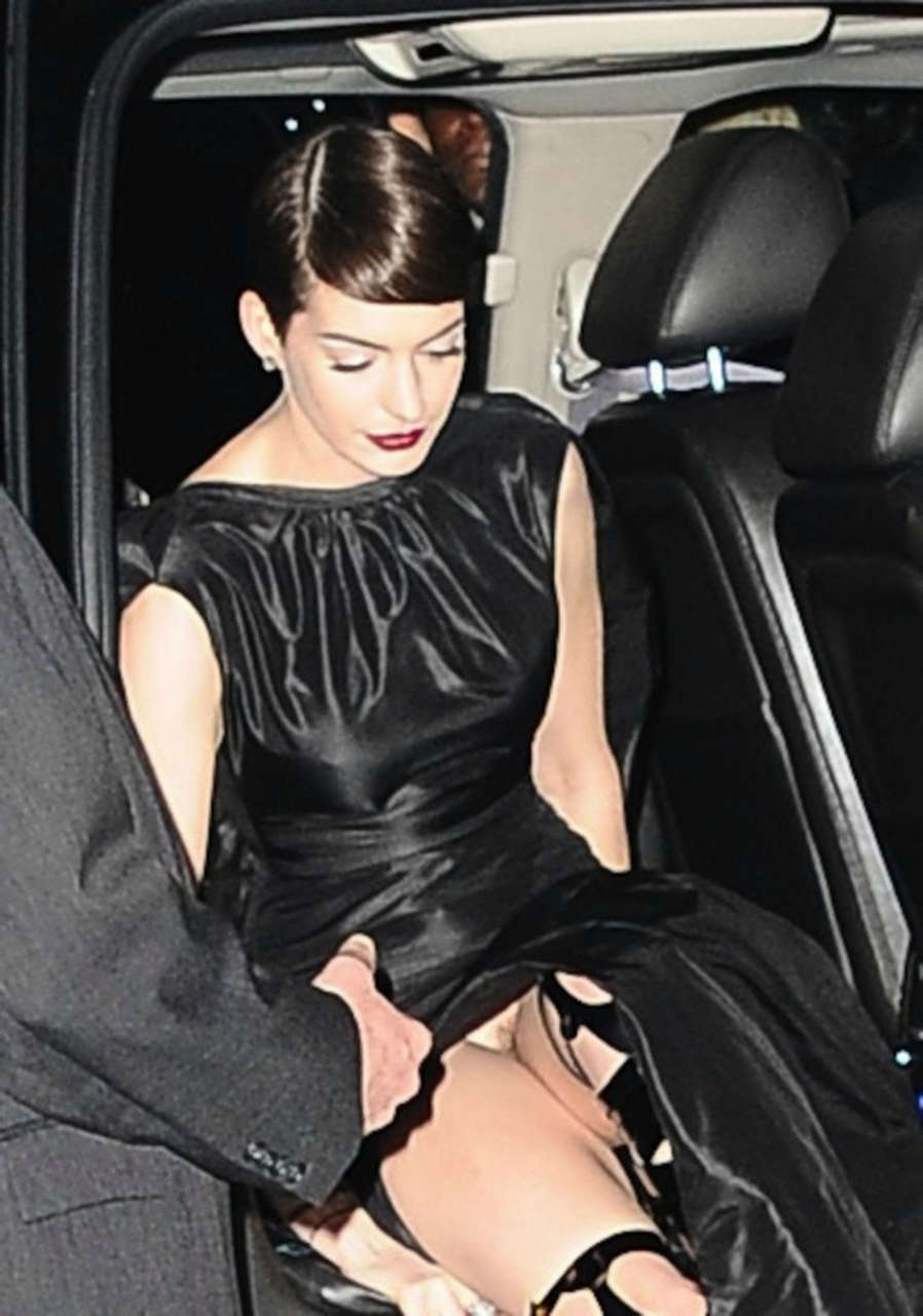 Anne Hathaway Gone Commando NSFW