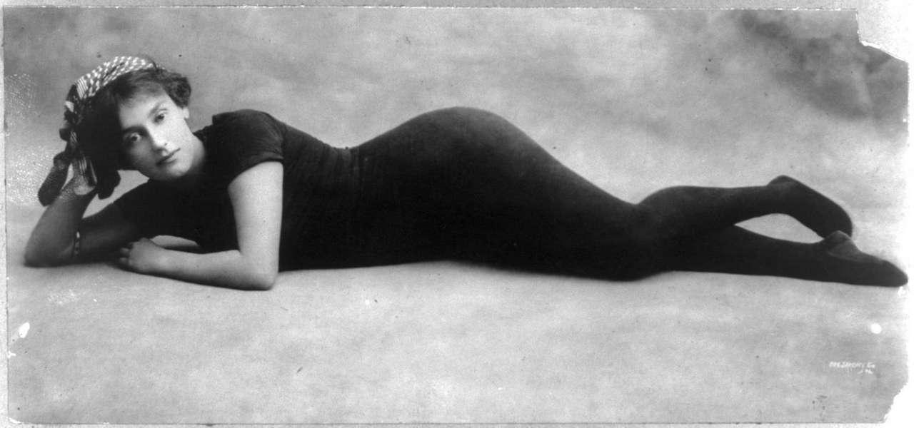 Annette Kellerman Australian Swimmer C 1900 NSF
