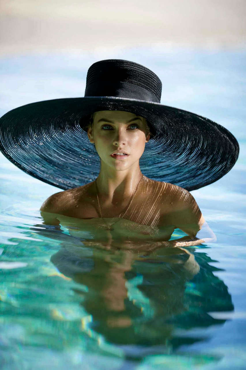 Barbara Pavlin In A Really Big Hat NSFW
