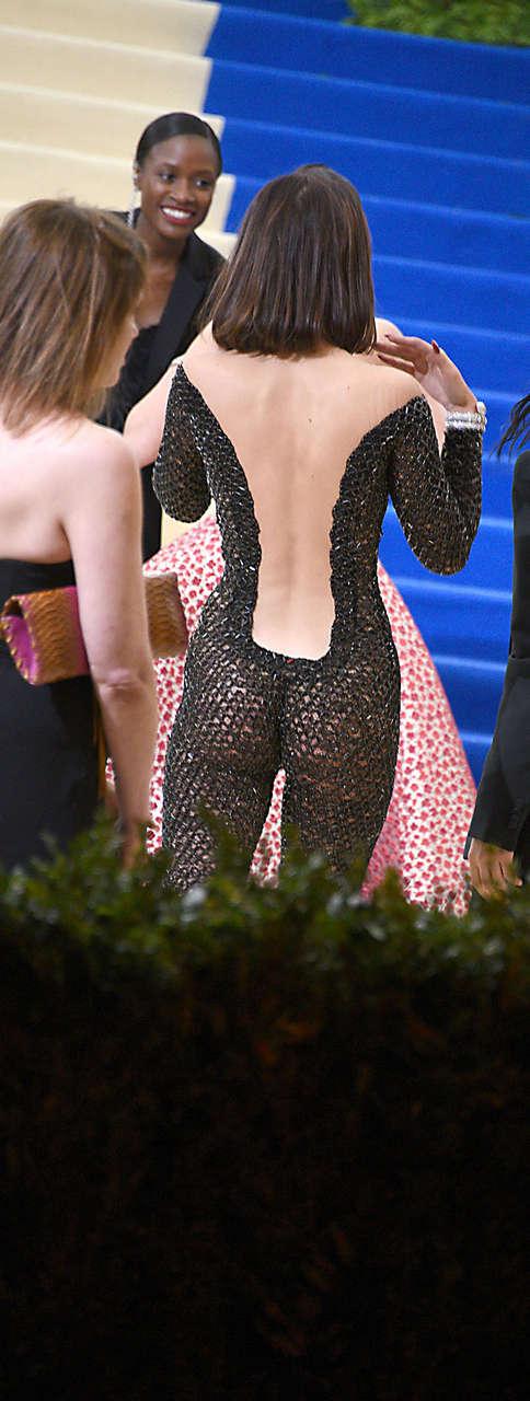 Bella Hadid 2017 Met Costume Institute Gala Ass