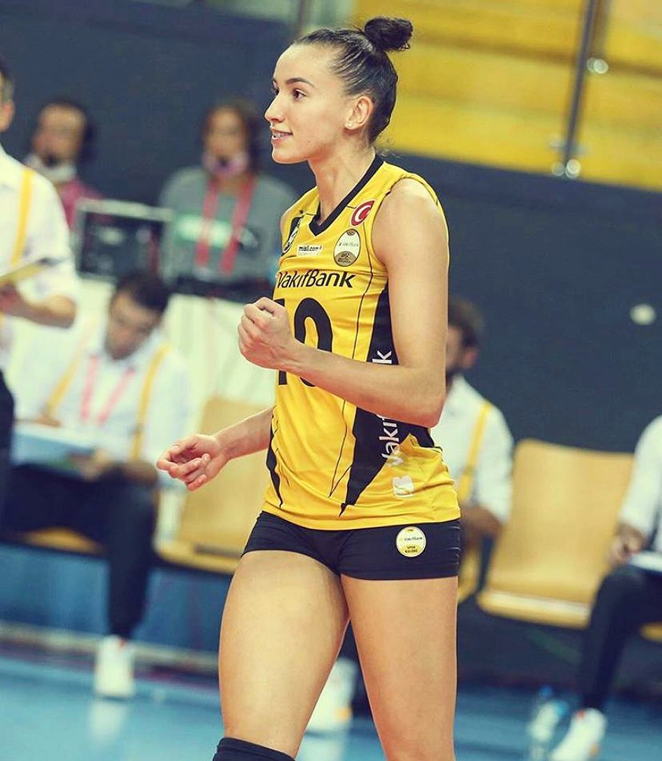 Brazilian Volleyball Player Gabriela Guimarae