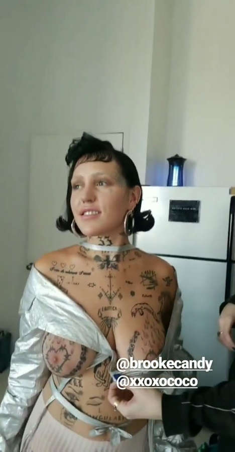 Brooke Candy NSFW