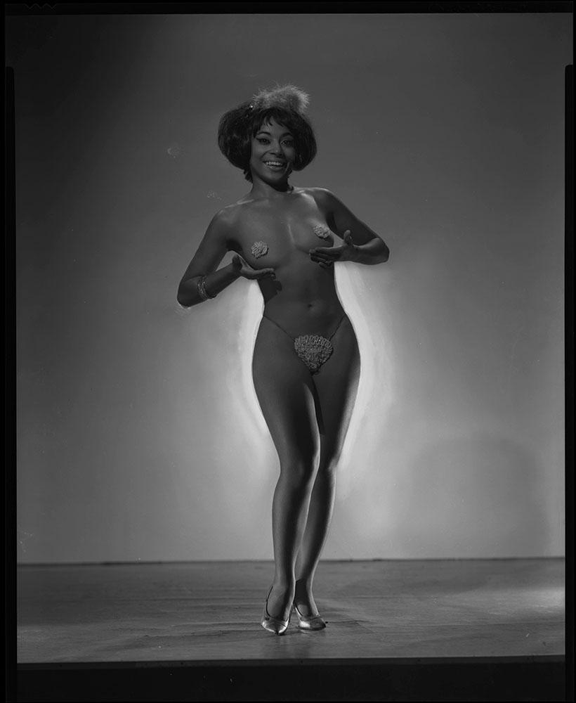 Burlesque Dancer Kupie Doll NSF
