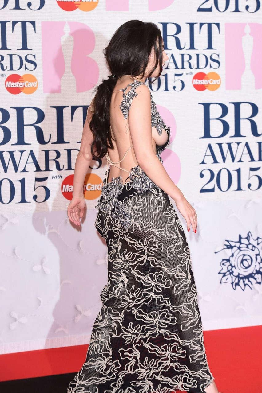 Charli Xcx At Brit Awards 2015 NSFW