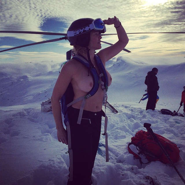 Chelsea Handler Can Handle The Cold NSFW NSFW