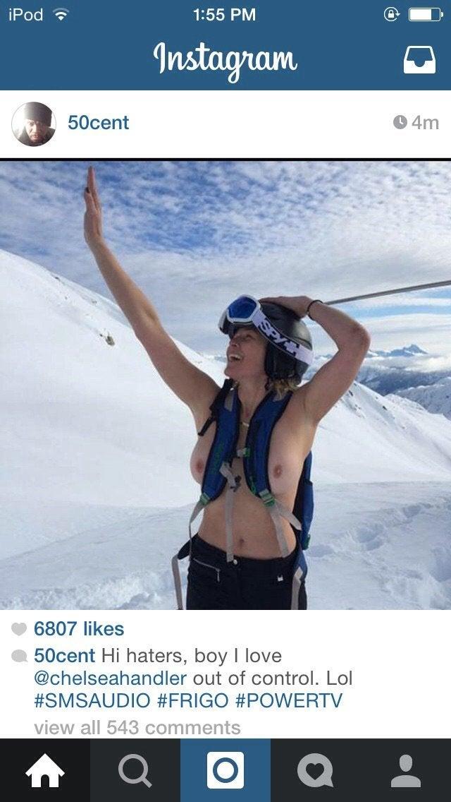 Chelsea Handler Deleted Off 50 Cents Instagram NSFW
