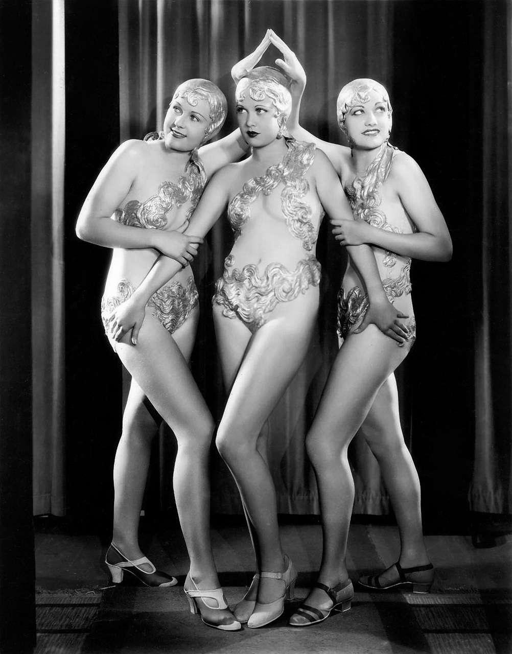 Chorus Girls From Footlight Parade 1933 NSF