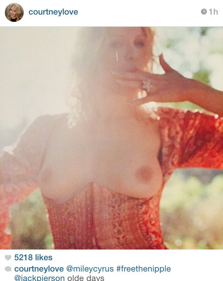Courtney Love Just Posted To Instagram NSFW NSFW