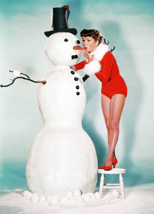 Debbie Reynolds Christmas 1956 NSF