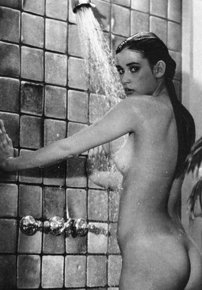 Demi Moore Looking Sexy In The Shower NSFW