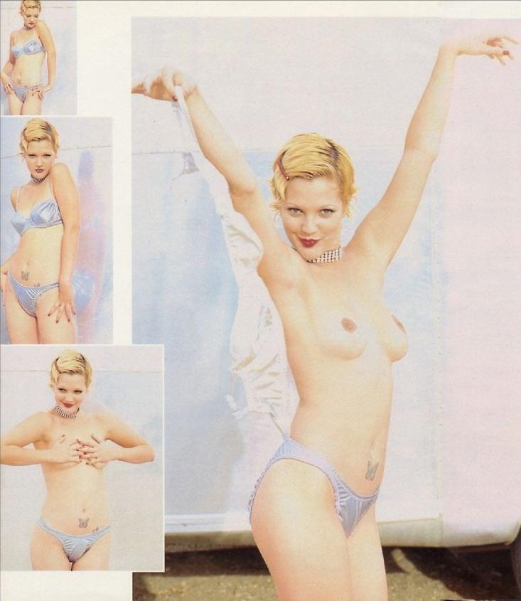 Drew Barrymore In Playboy January 1995 NSFW