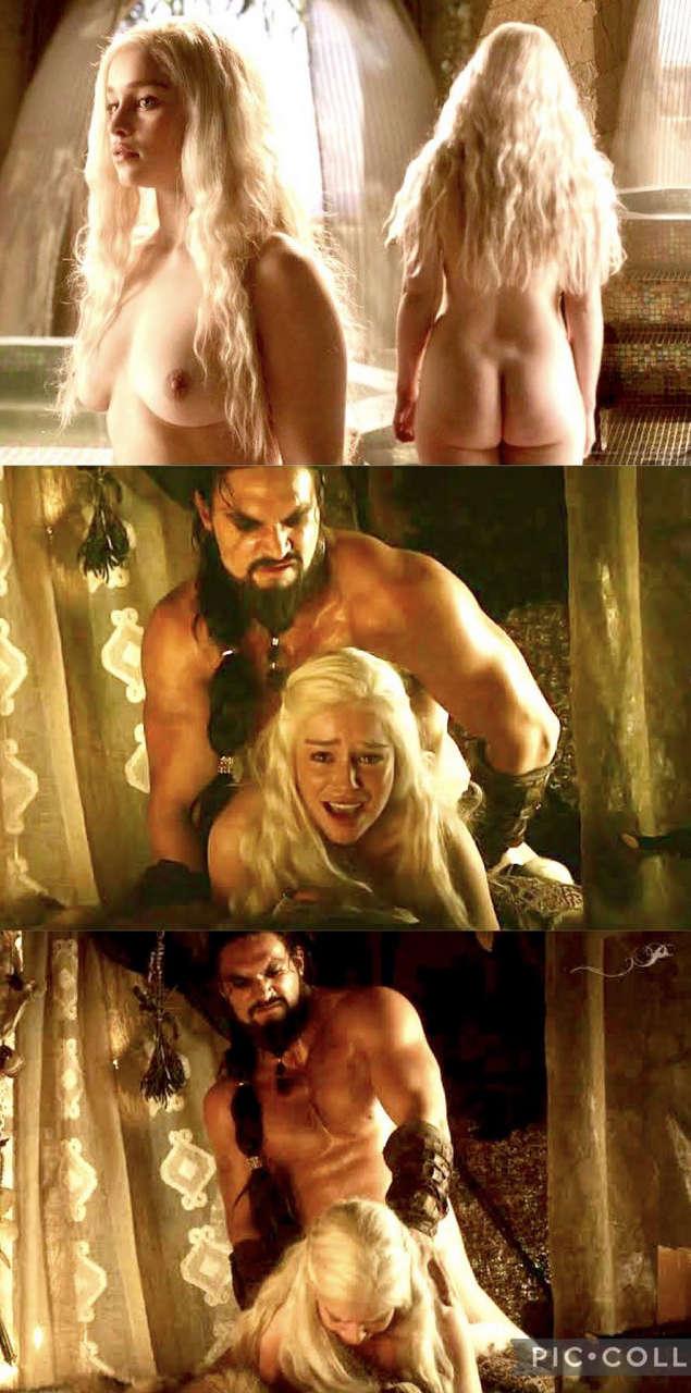 Emilia Clarke In Game Of Thrones NSF