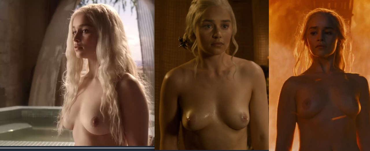Emilia Clarke Nude In Game Of Thrones S6e04 NSFW