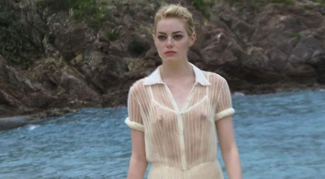 Emma Stone See Through Pic NSFW