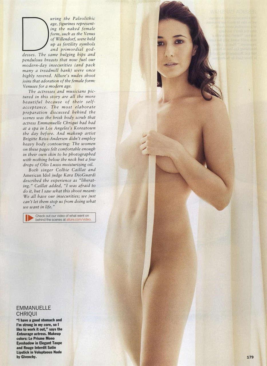 Emmanuelle Chriqui See Through NSFW