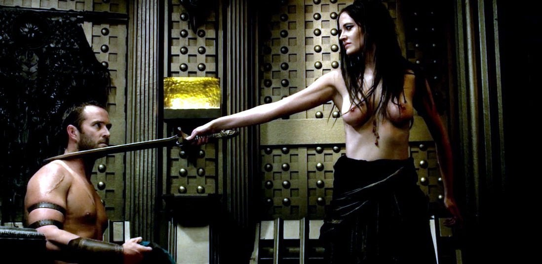 Eva Green Stars As Artemisa In 300 Rise Of An Empire NSFW
