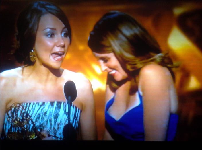 Fey Caught Slipping Emmys NSFW