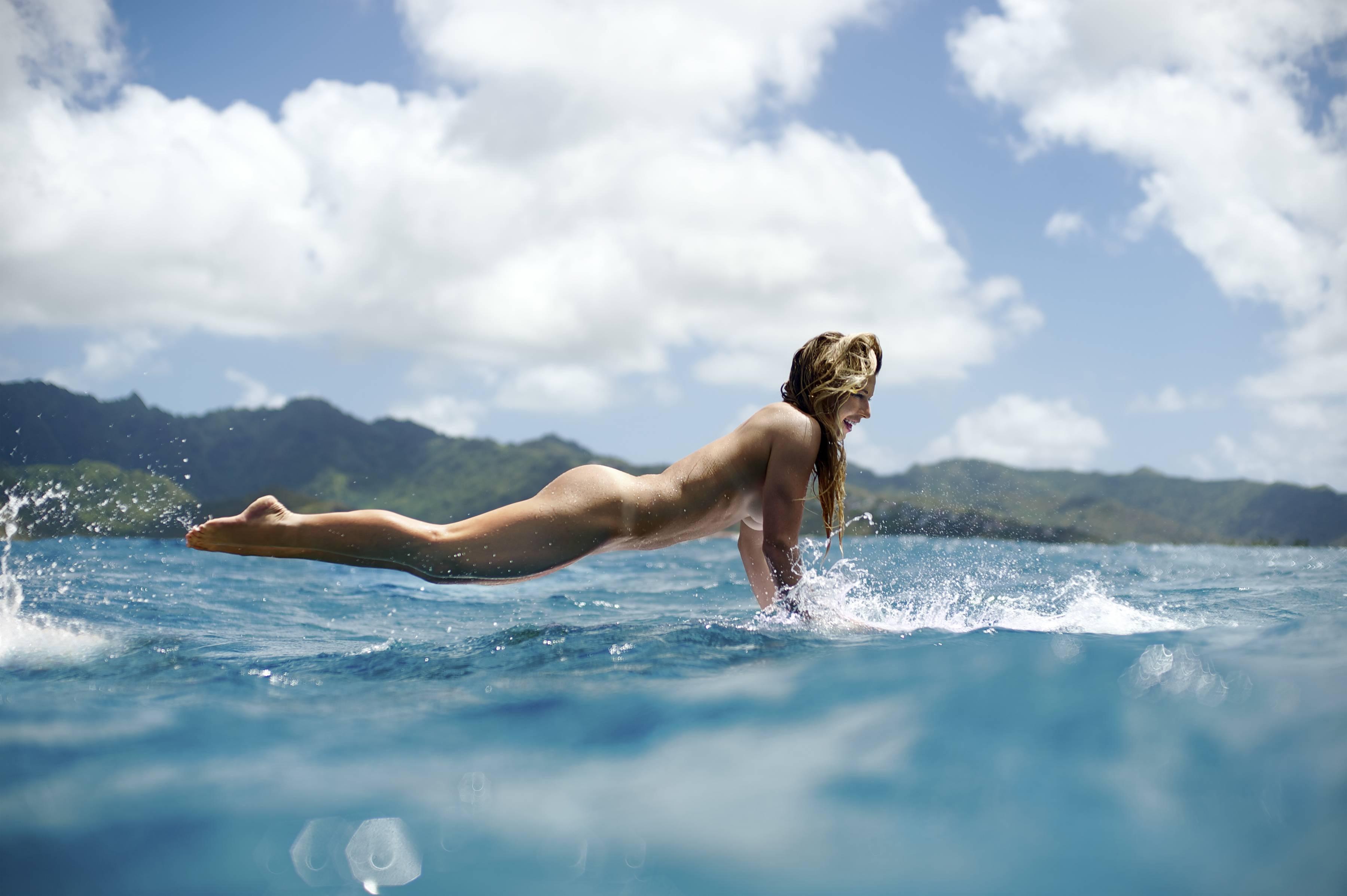 Hawaiian Surfer Coco Ho Via R Nsfwsport