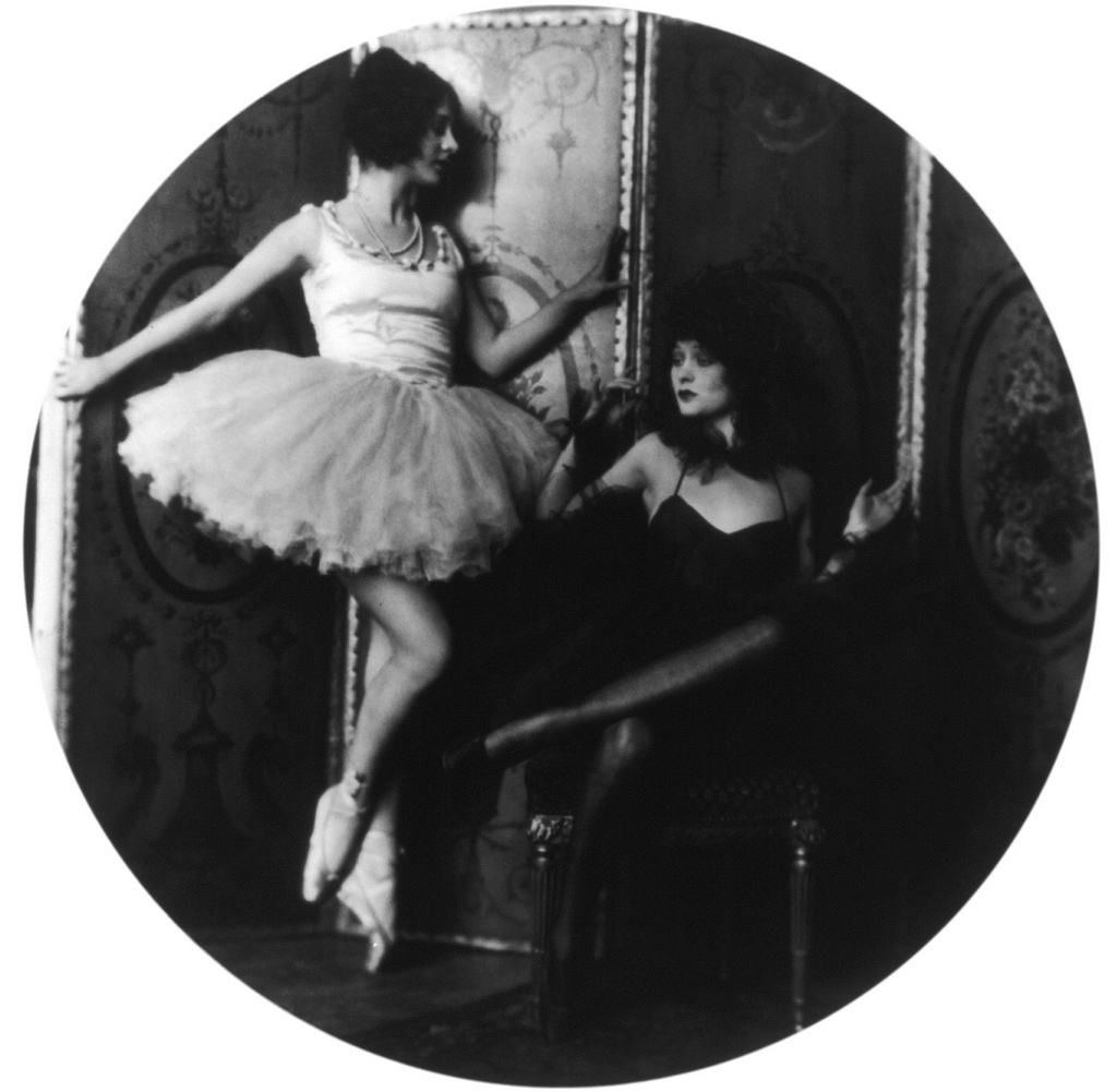 Helene And Dolores Costello Photographed By Alfred Cheney Johnston C 1910s NSF
