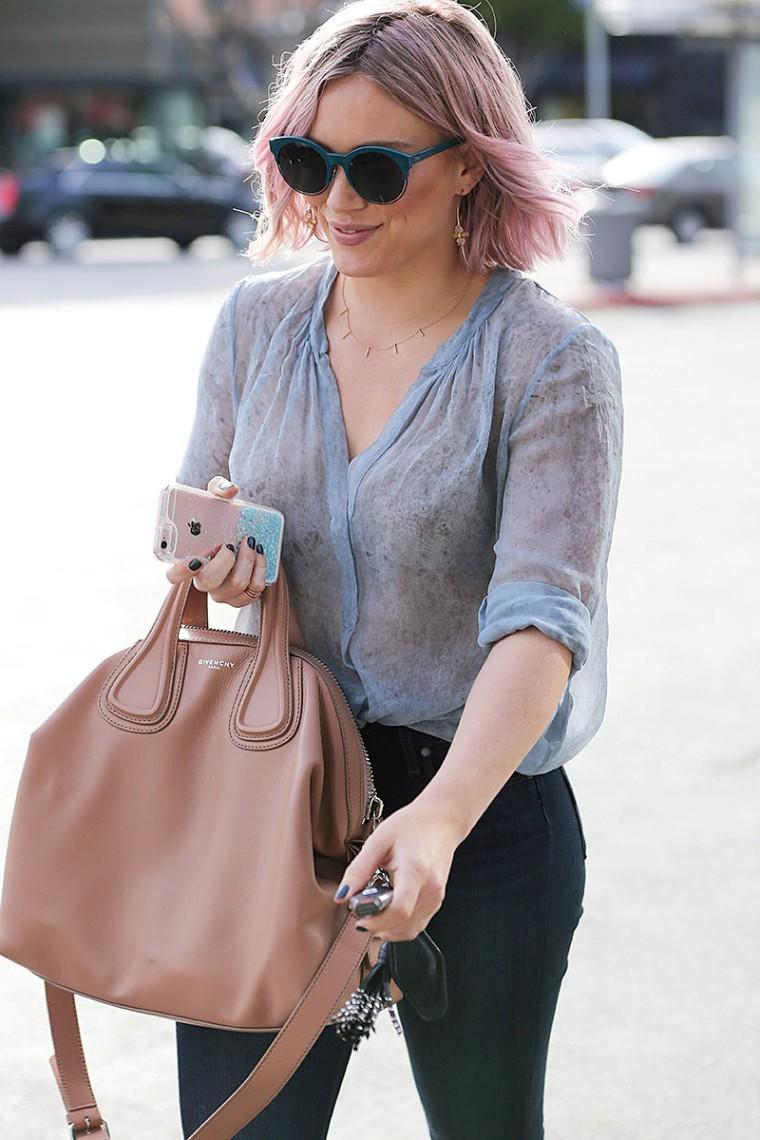 Hilary Duff See Through NSFW