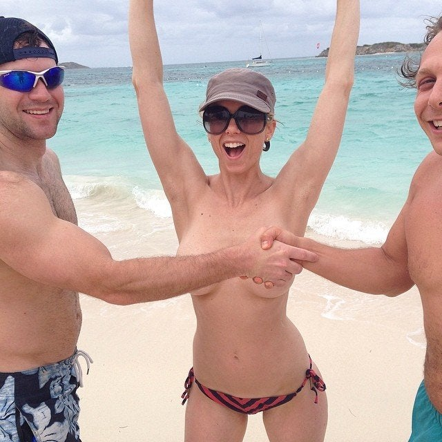 Iliza Shlesinger Topless At The Beach NSFW