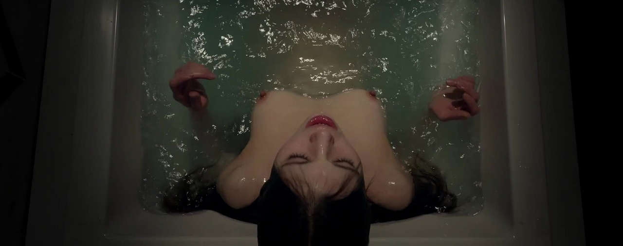 India Eisley From Look Away 2018 NSFW