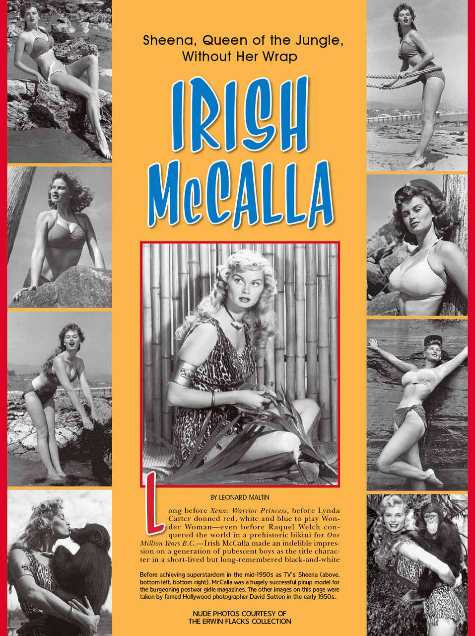 Irish Mccalla NSFW