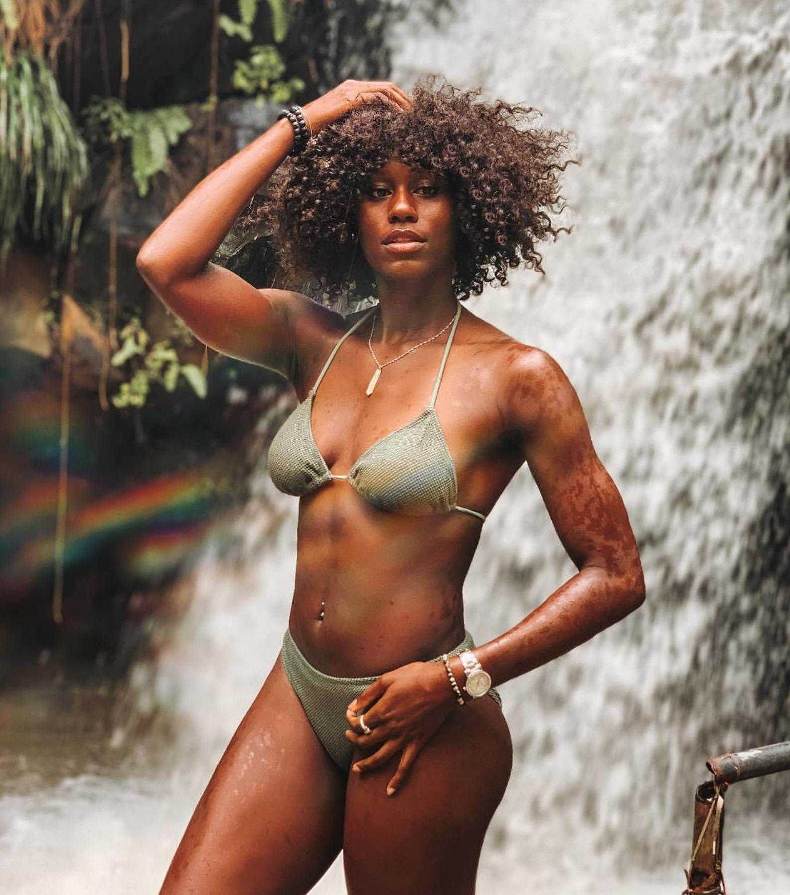 Jamaican High Jumper Saniel Atkinson Grie