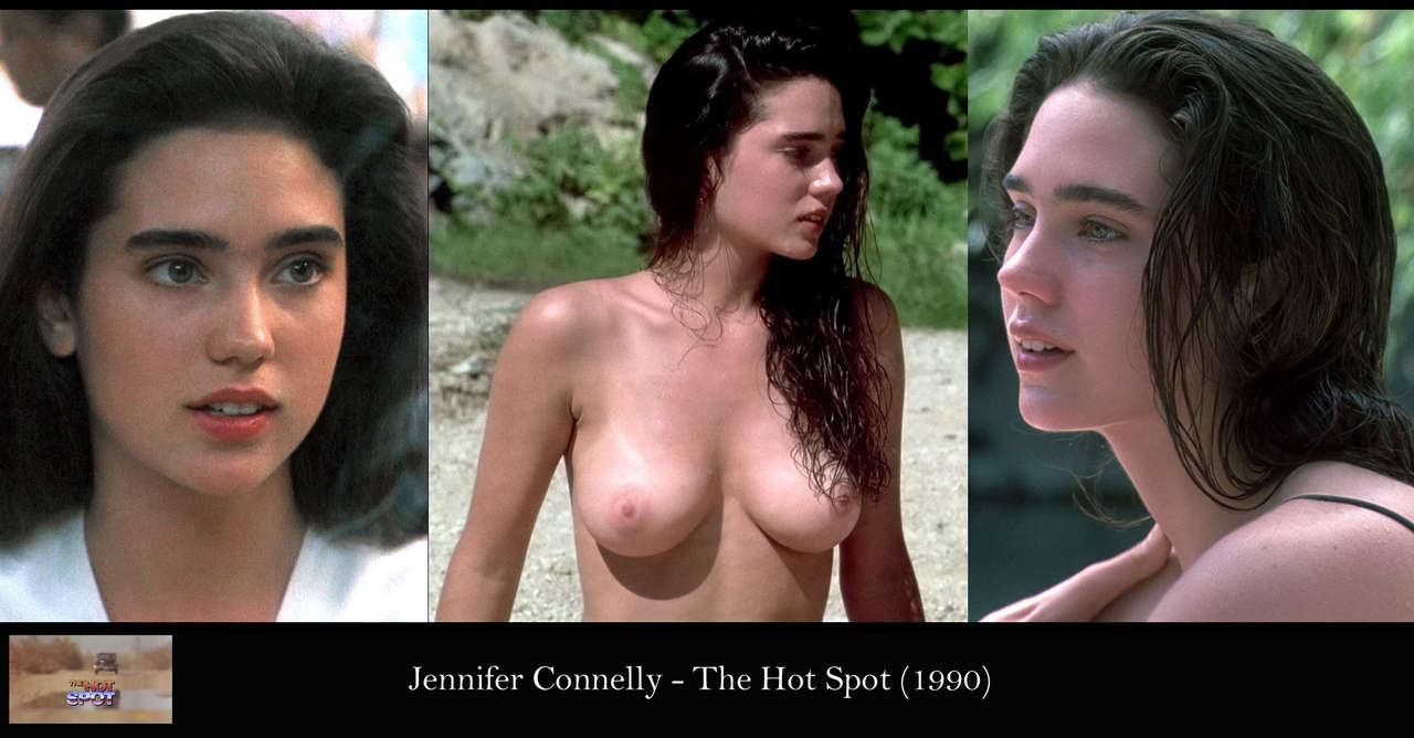 Jennifer Connelly The Hot Spot 1990 Bd Brighter Mild Sharpen Reduce Noise NSFW
