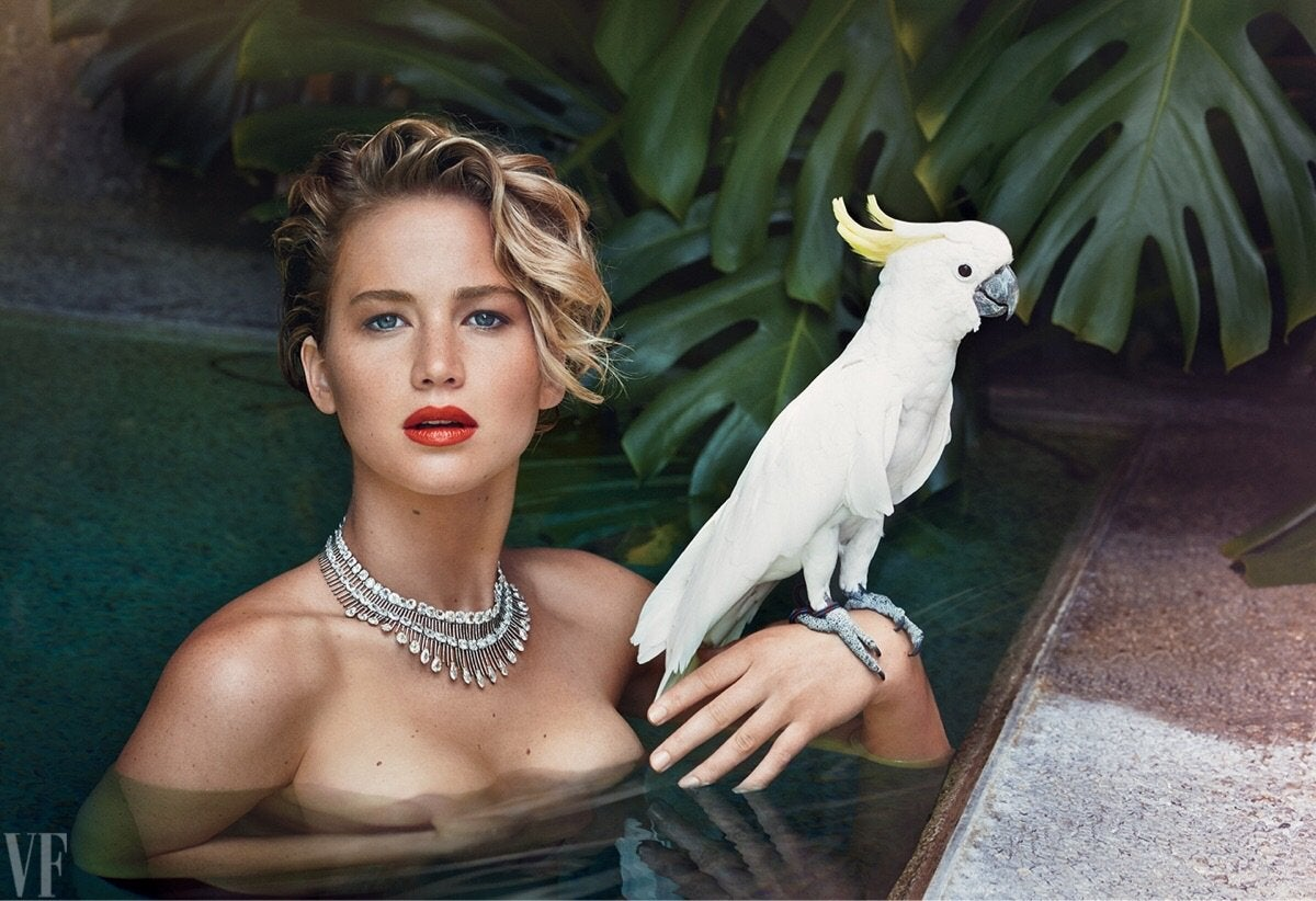 Jennifer Lawrence In The Water NSFW