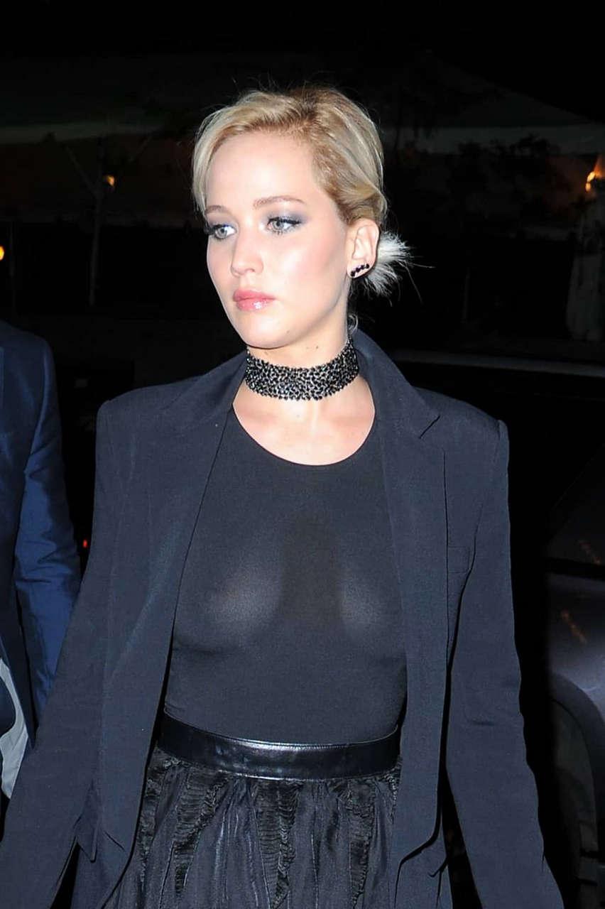 Jennifer Lawrence See Thru A Glaad Media Awards NSFW
