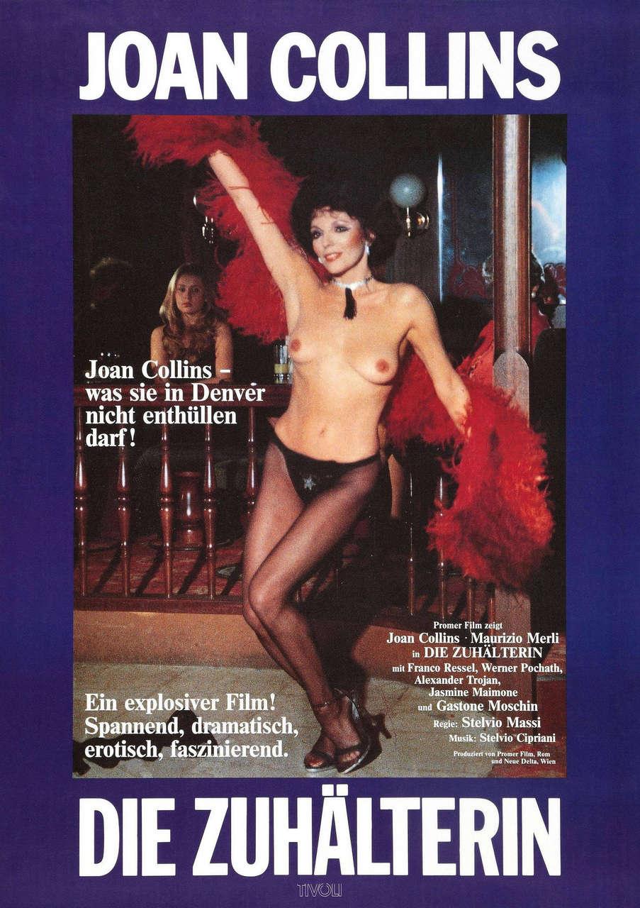 Joan Collins Fearless Fuzz Poliziotto Senza Paura Aka Magnum Cop 1978 Italy Austria NSFW