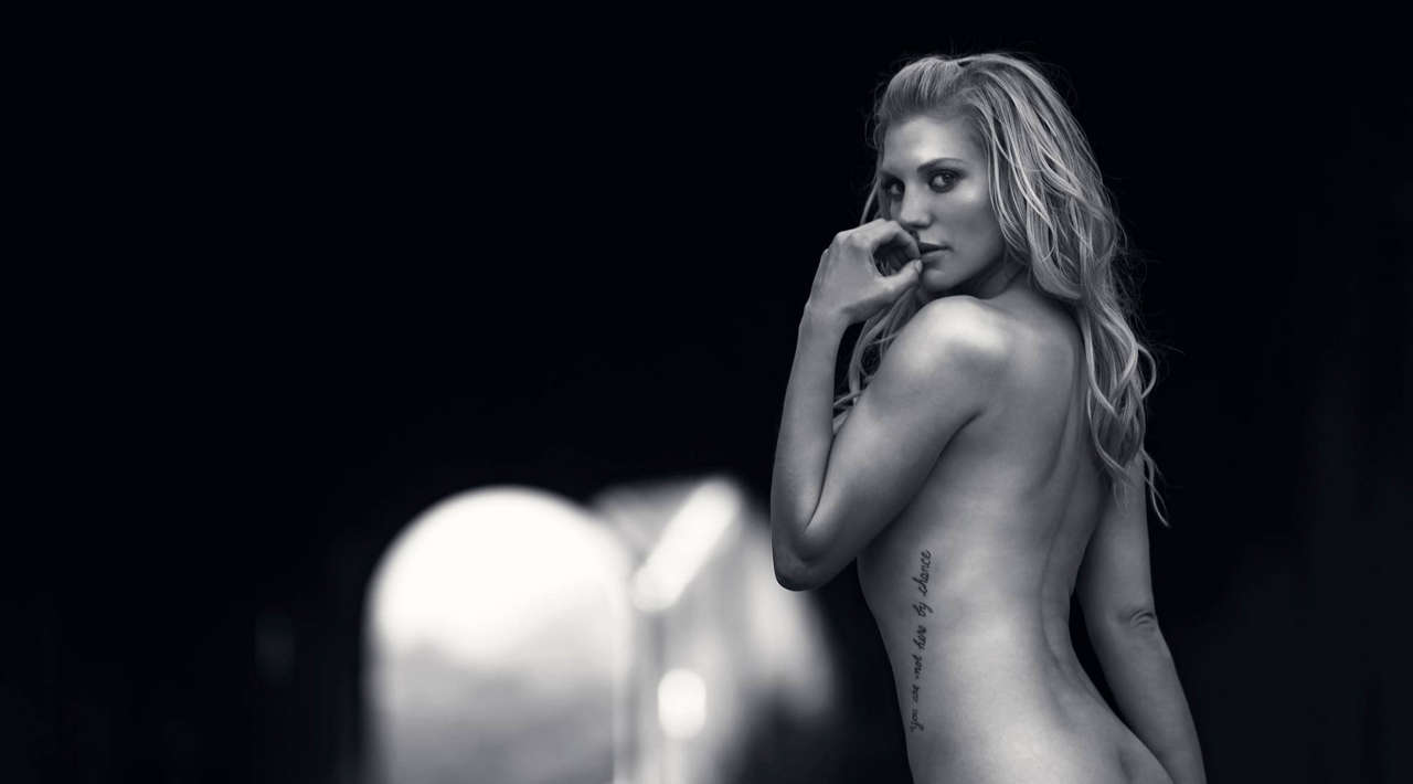 Katee Sackhoff From The Acting Outlaws Calendar NSFW