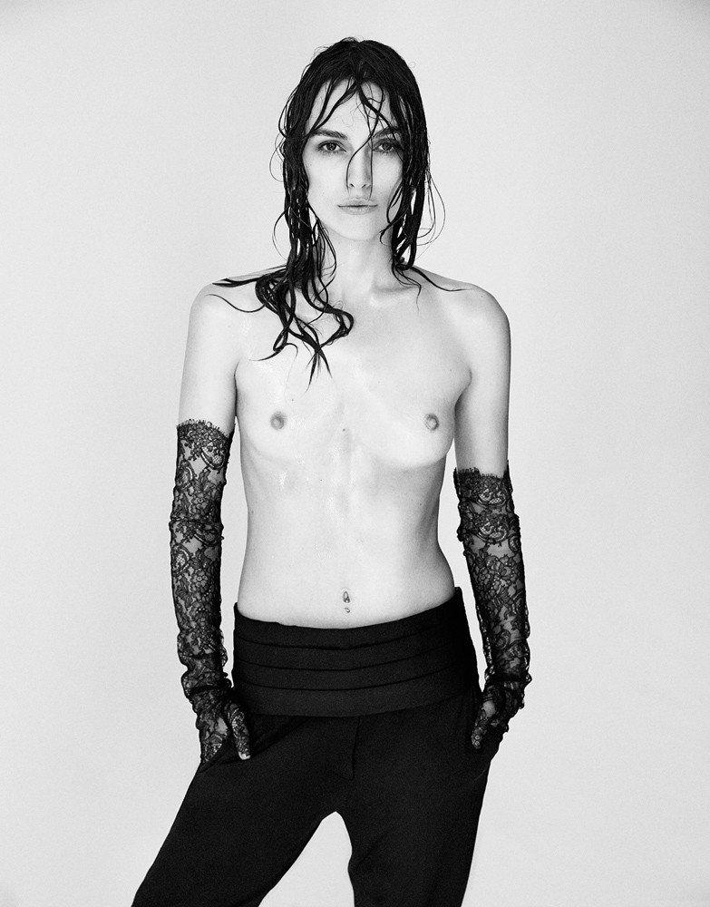 Kiera Knightley Topless In Photoshoot NSFW