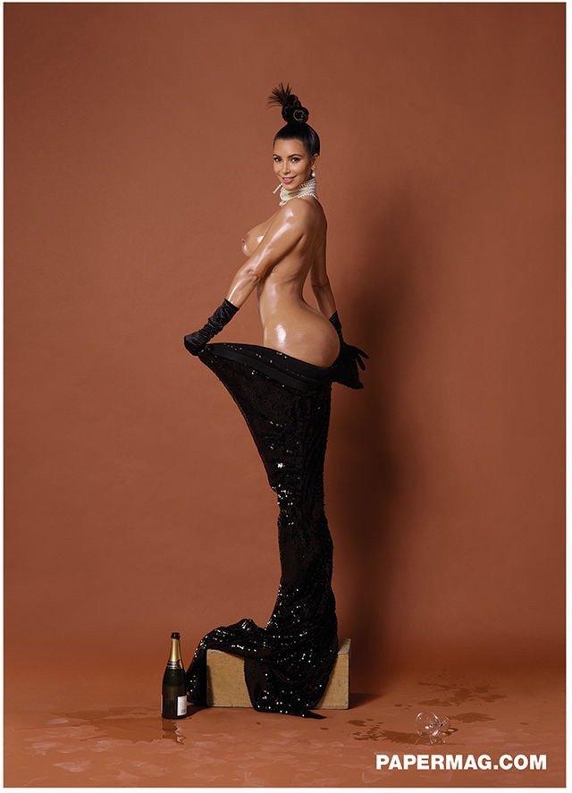 Kim Kardashian Full Paper Mag Editorial NSFW