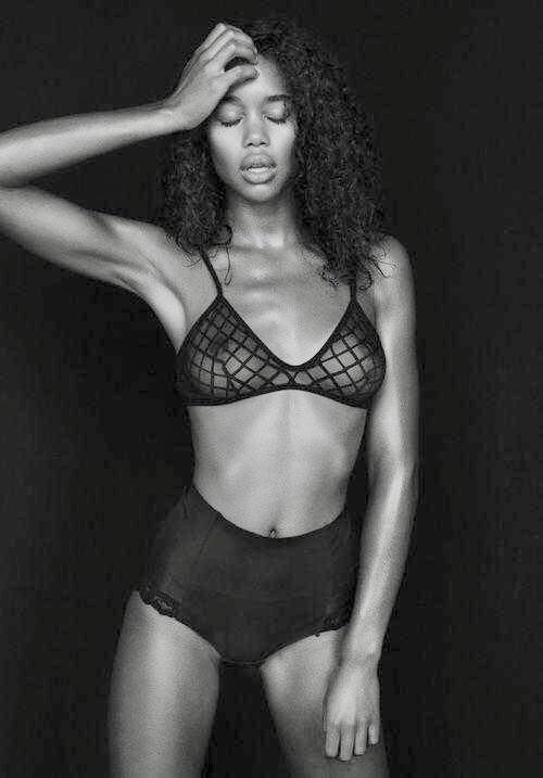 Laura Harrier Spiderman Homecoming Bw See Through NSFW