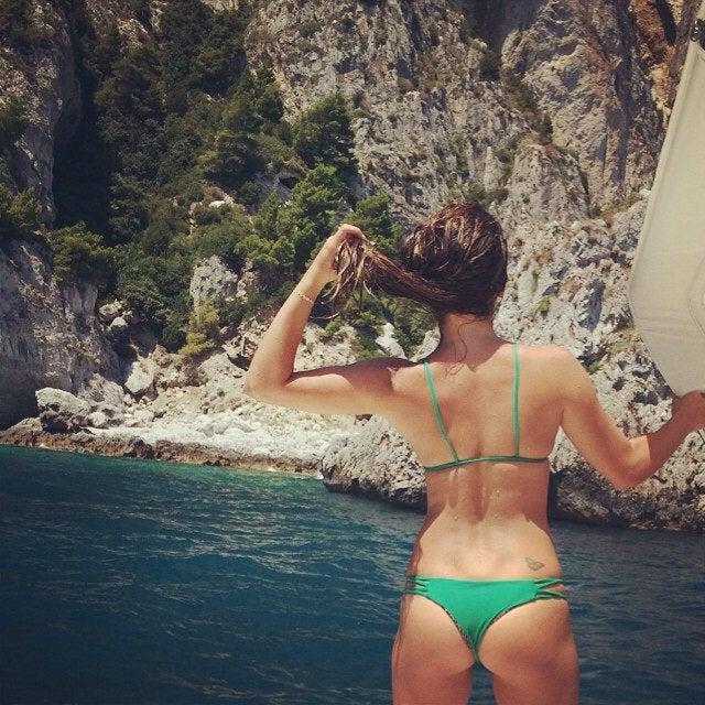 Lea Michele Brazilian Cut Bikini NSFW