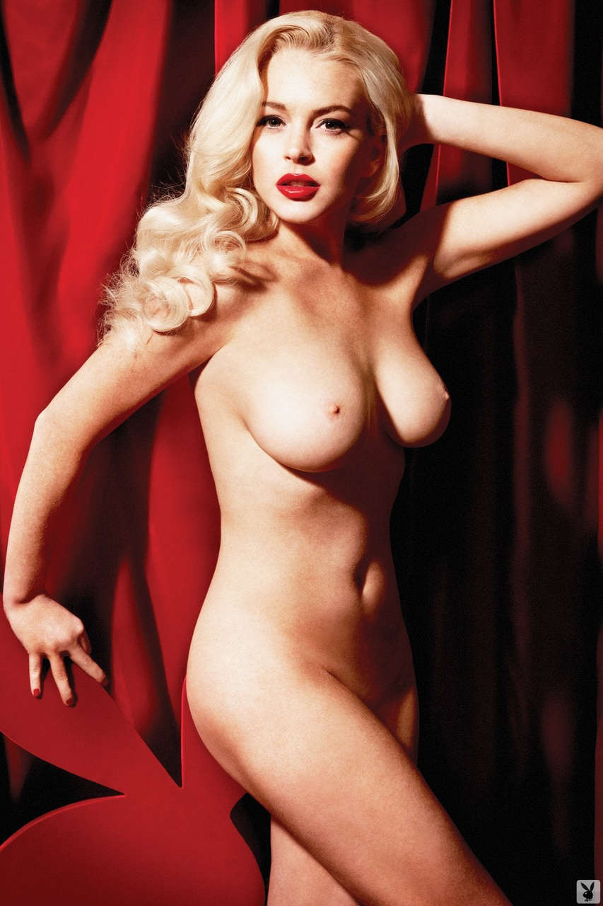Lindsay Lohan For Playboy Album In Comments NSFW