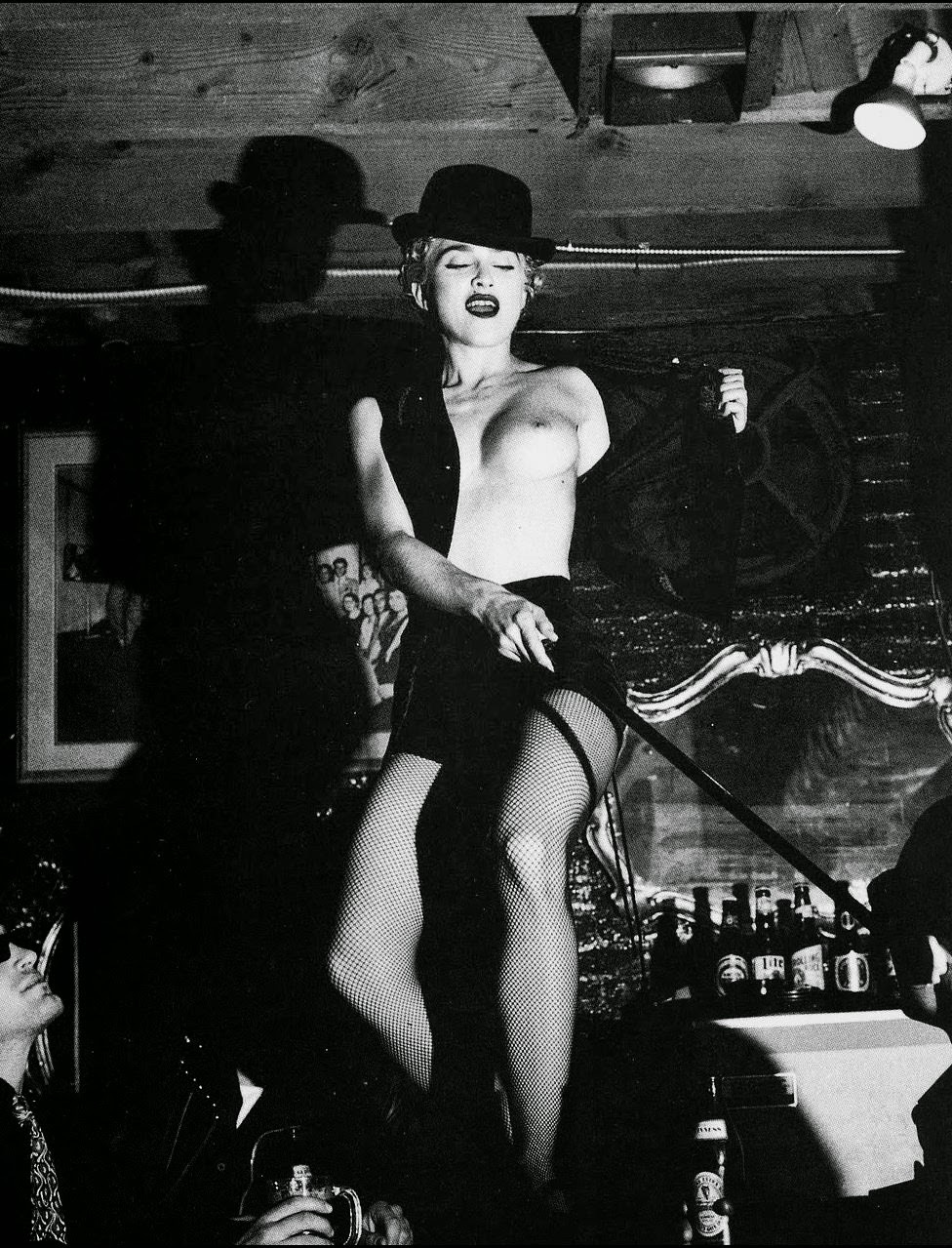 Madonna By Helmut Newton 1990 NSFW