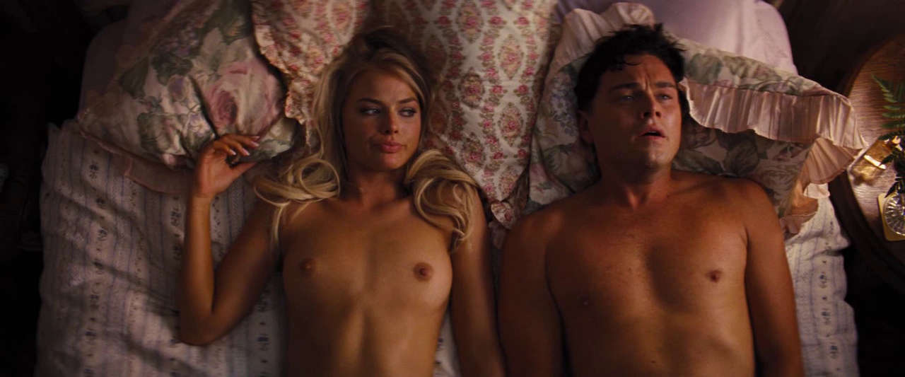 Margot Robbie Tits And Nipples In Wolf Of Wall Street NSFW