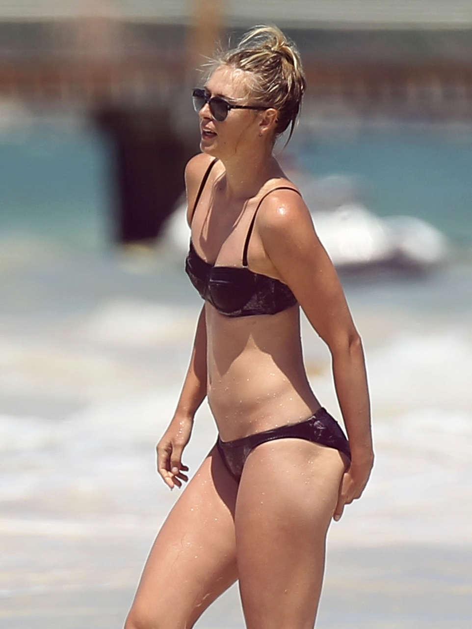 Maria Sharapova Wearing A Bikini NSFW