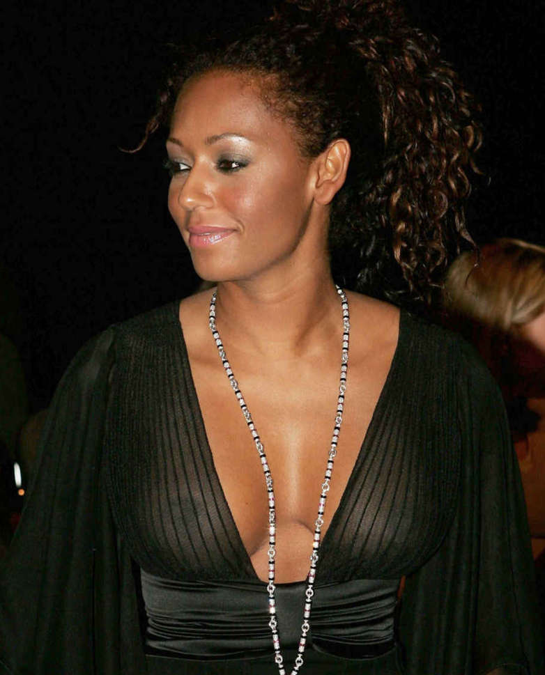 Mel B Scary Spice See Through NSFW