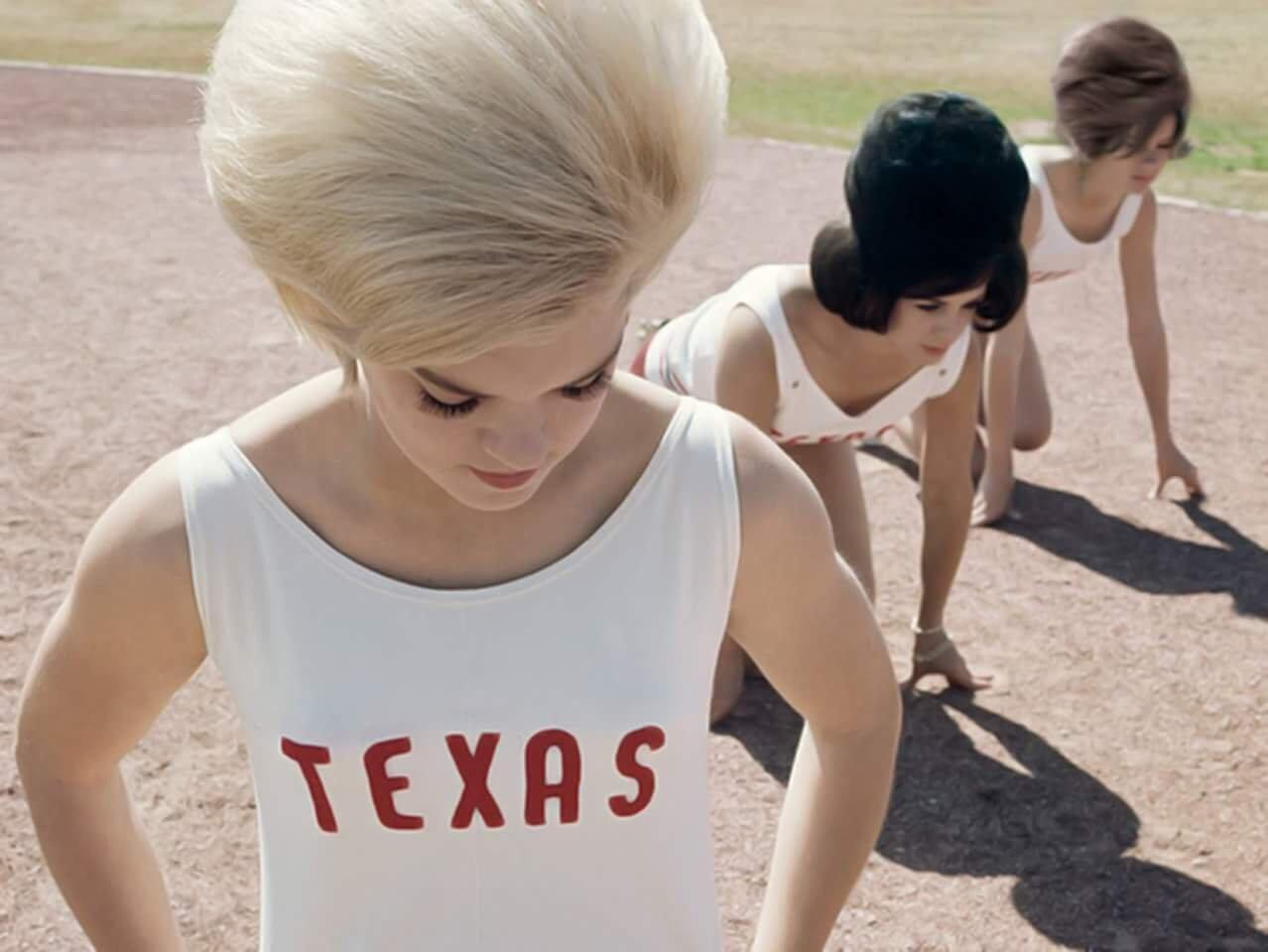 Members Of The Texas Track Club Of Abilene Lining Up For A Sports Illustrated Article In 1964 NSF