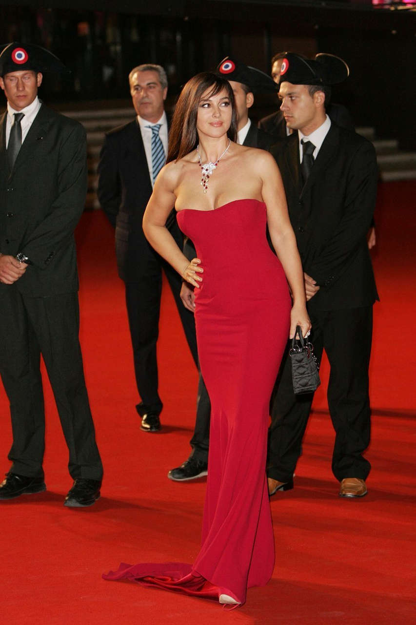 Monica Bellucci Ready To Plunge At The Rome Film Festival NSFW