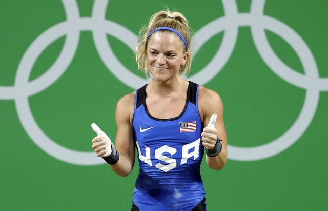 Morghan Whitney King Usa Weightliftin