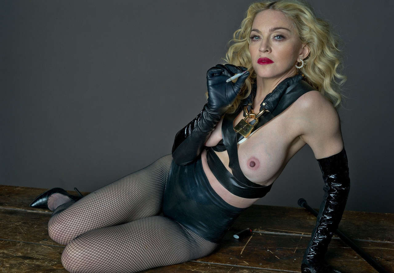 New Madonna Still Has A Great Rack For Being That Old NSFW