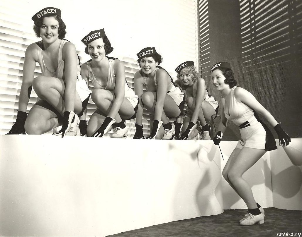 Paramount Chorus Girls 1934 From L To R Stacey Stacey Stacey Stacey And Stacey NSF