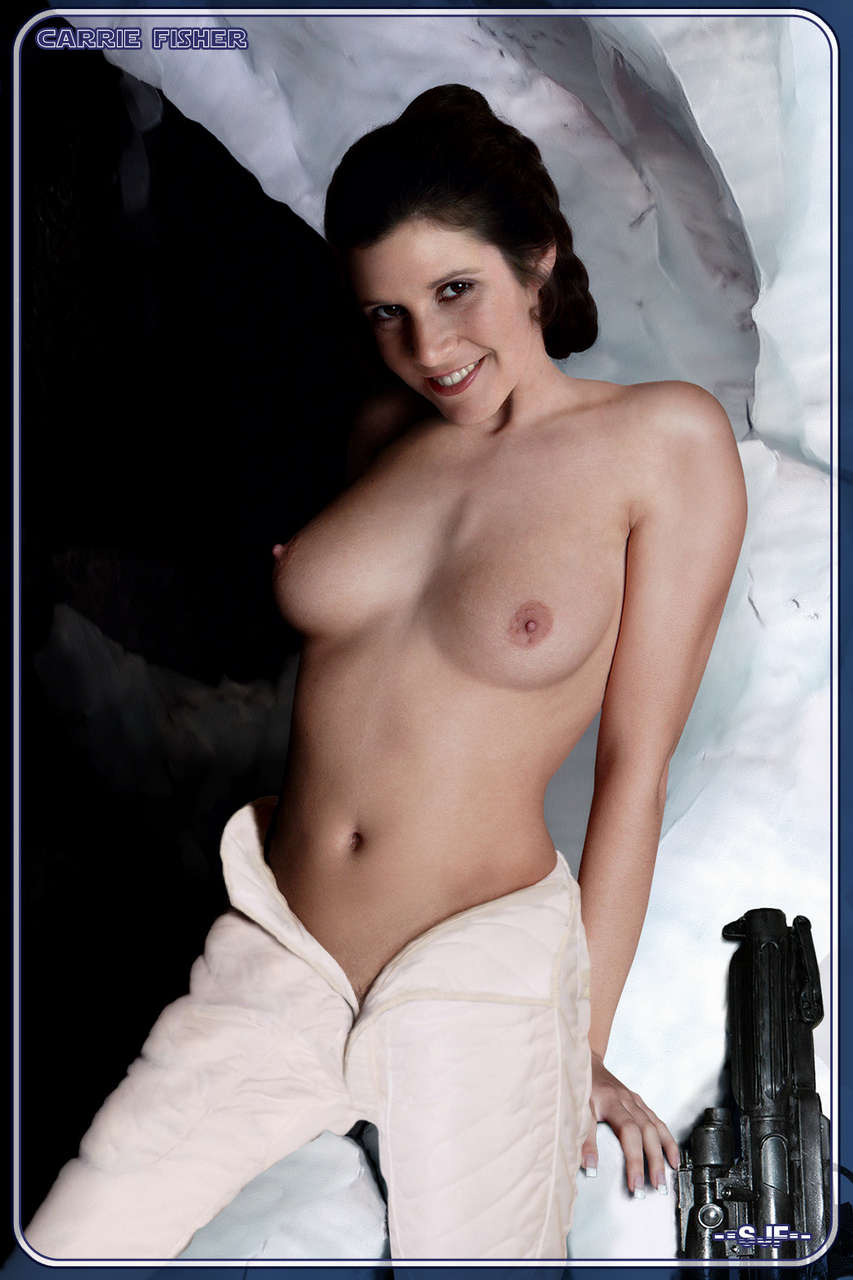 Princess Leia Carrie Fisher NSFW